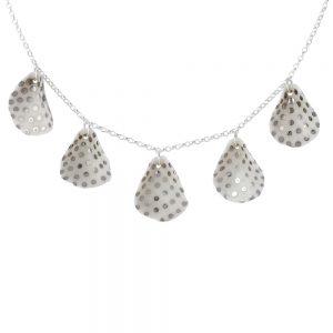 5 porcelain petal necklace (iii)