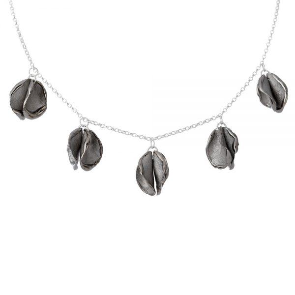 5 'twin' petal necklace
