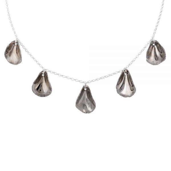 5 porcelain petal necklace (ii)